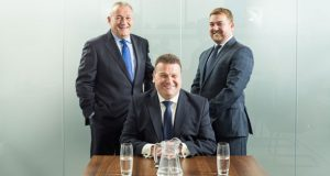 Left to right: Alan Garrett, director, Michael Garrett, managing director, Mike Garrett, divisional director